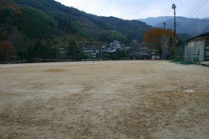 球磨中学校グラウンド